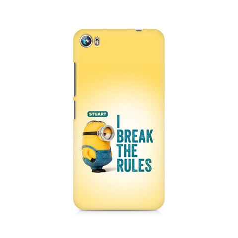 Canvas Fire 4 Minion I Break the rules