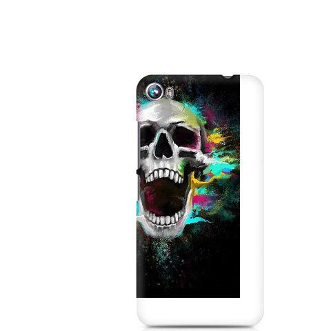 Canvas Fire 4 Screaming Skull