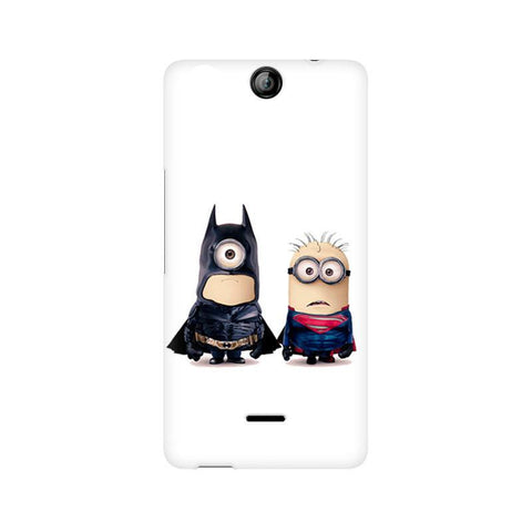 Canvas Juice 3 Batman vs Superman Minions