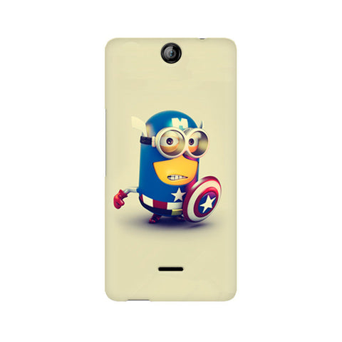 Canvas Juice 3 Captain America Minion