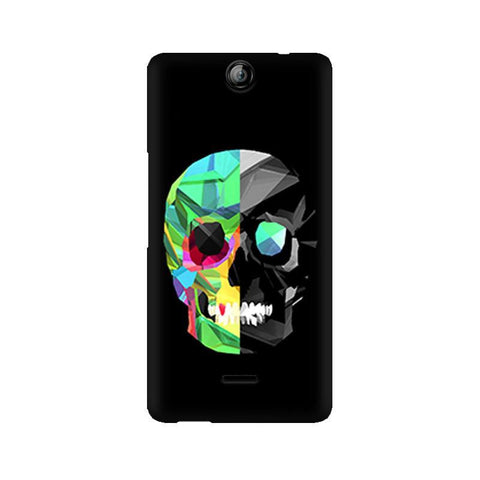 Canvas Juice 3 Abstract Skull
