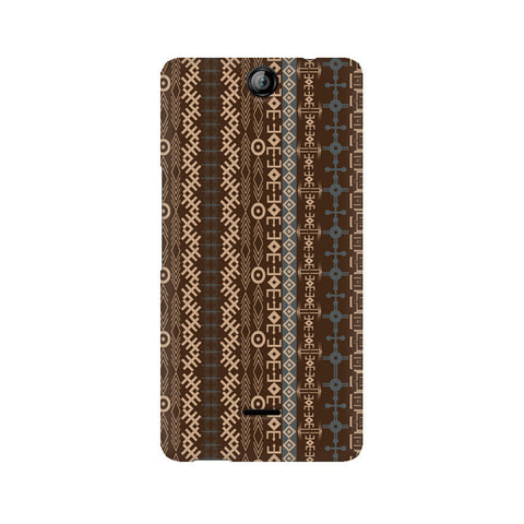 Canvas Juice 3 Brown Tribal Strips