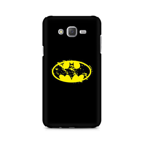 Galaxy J5 Flourished Yellow Batman