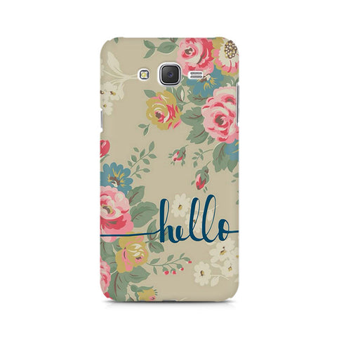 Galaxy J5 Flowery Hello