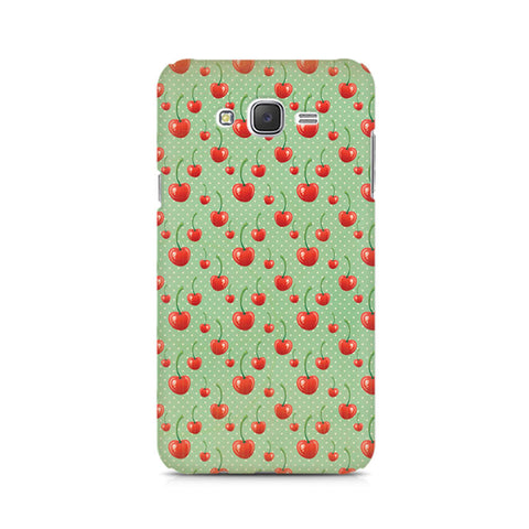 Galaxy J5 Cherry Overdose Green