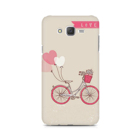 Galaxy J5 Bicycle Love