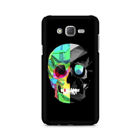 Galaxy J5 Abstract Skull