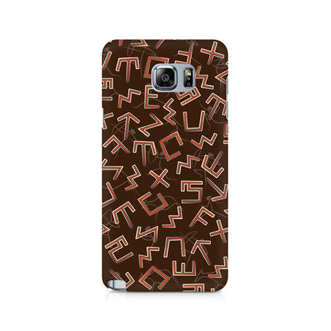 Galaxy Note 5 Tribal Alphabets