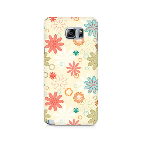 Galaxy Note 5 Floral Romance