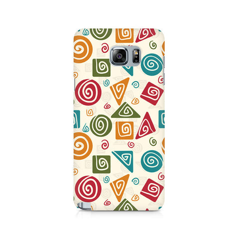 Galaxy Note 5 Tribal Geometric Fusion