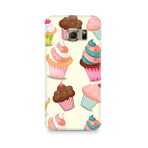 Galaxy S6 Edge+ Cute Cupcakes