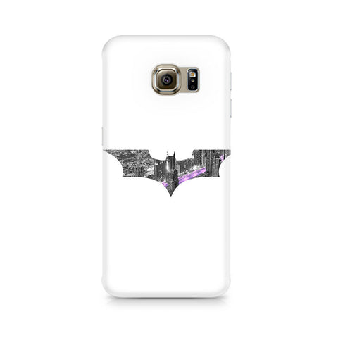 Galaxy S6 Edge+ Bat Logo Arkham City