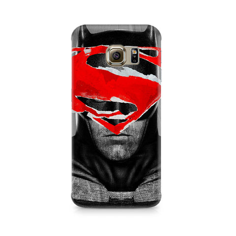 Galaxy S6 Edge+ Batman With Superman Logo