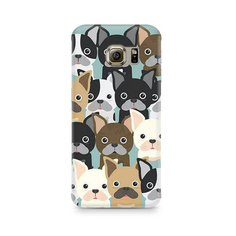 Galaxy S6 Edge+ Dog Family Cluster