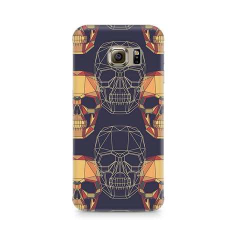 Galaxy S6 Edge+ Geometric Skull