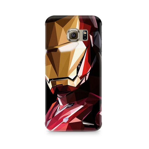 Galaxy S6 Edge+ Iron Man Abstract