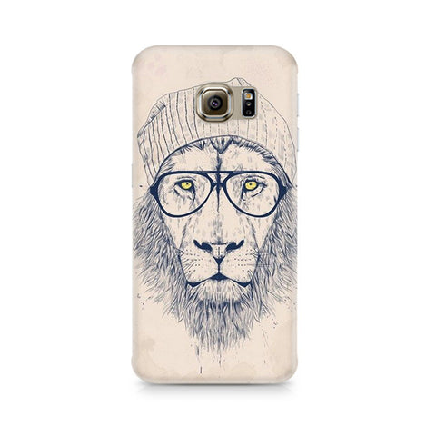 Galaxy S6 Edge+ Lion with Glasses