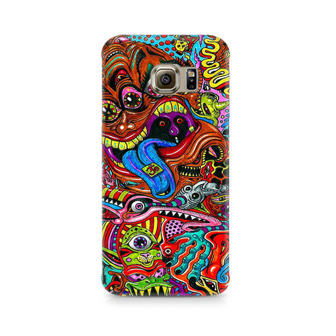 Galaxy S6 Edge+ Surreal Colorful Physchedelic