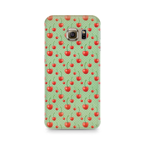 Galaxy S6 Cherry Overdose Green