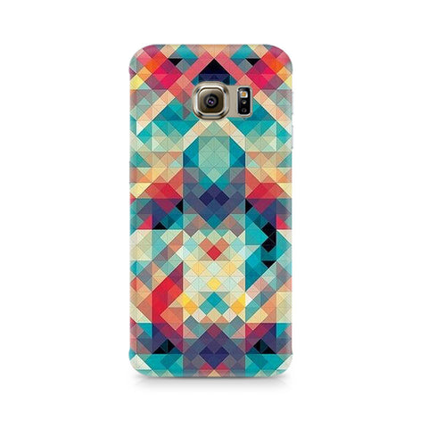 Galaxy S6 Abstract Criss Cross