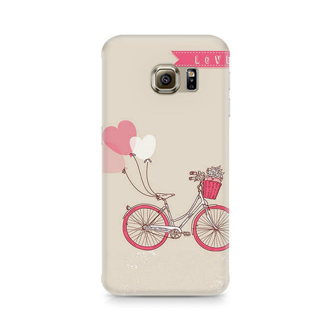 Galaxy S6 Bicycle Love