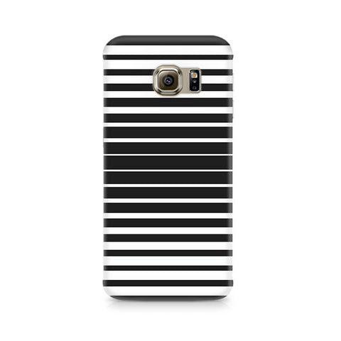 Galaxy S6 Black and White Stripes