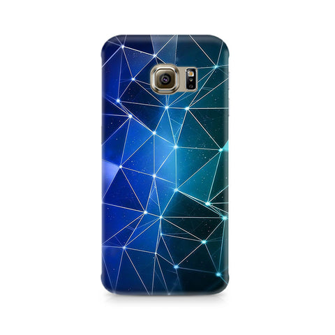 Galaxy S6 Connected Triangles