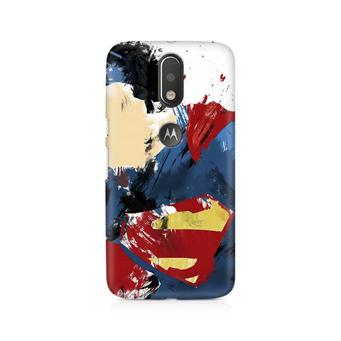 Moto G4+ Superman Abstract