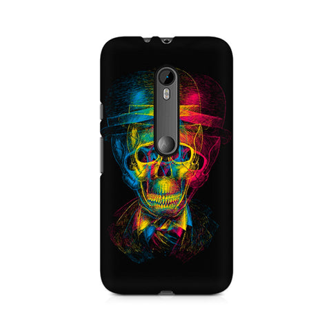 Moto X Style Skull Anaglyph