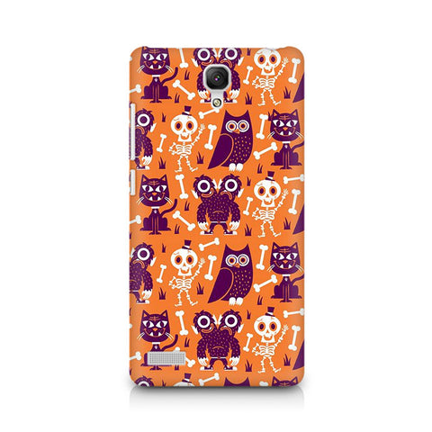 Redmi Note Owls and Skull