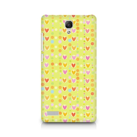 Redmi Note Cute Colorful Hearts