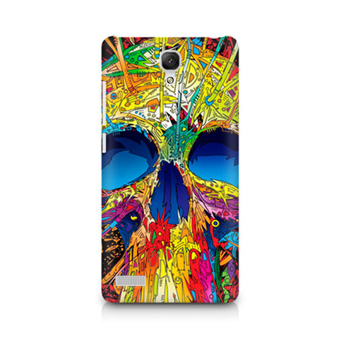 Redmi Note Abstract Skull Art