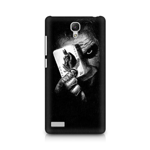 Redmi Note Joker with Batman Card