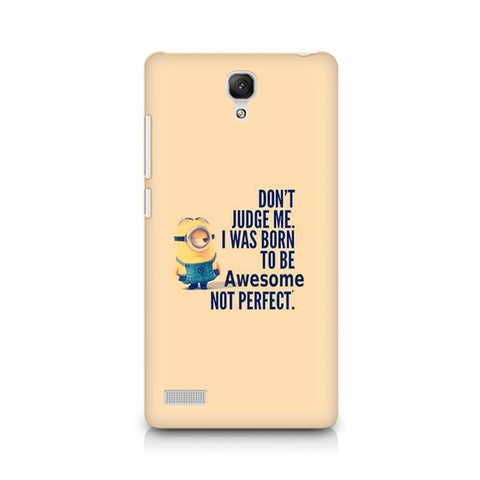 Redmi Note Minion Awesome