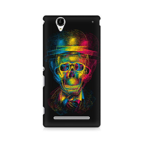 Xperia T2 Skull Anaglyph