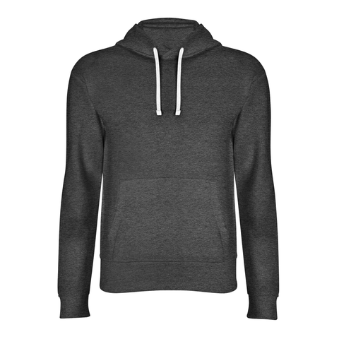 basic antra grey hoodie front