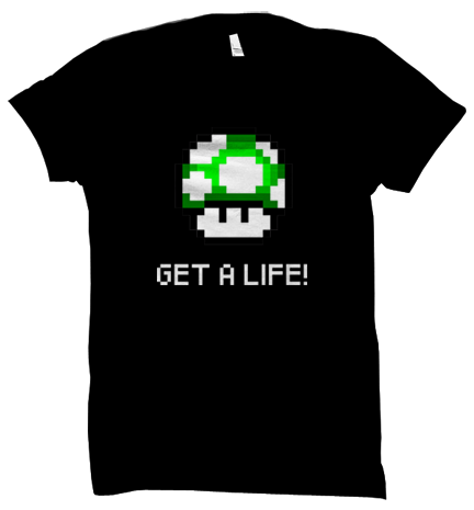 Get a Life Roundneck Unisex T-shirt - Flairlift