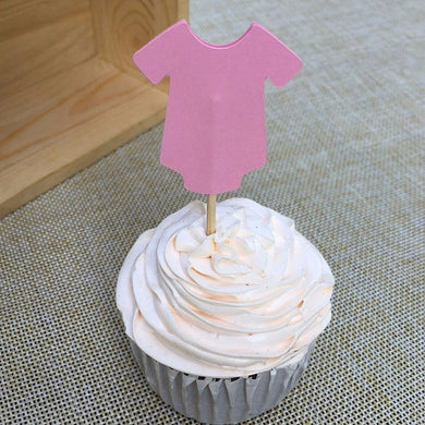 Onesie Cupcake Toppers