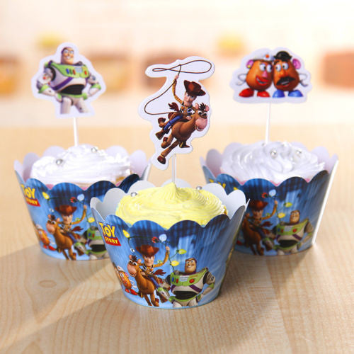 Toy Story Cupcake Toppers & Wrappers