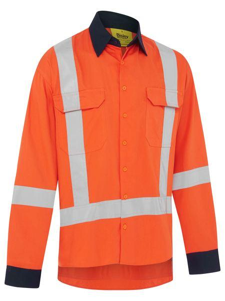 Bisley Ttmc_W17 Cool Light Weight Drill Shirt (BS6248XT)