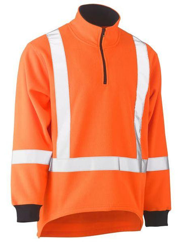 Bisley Ttmc-w X Taped Hi Vis Fleece Pullover (BK6249XT)