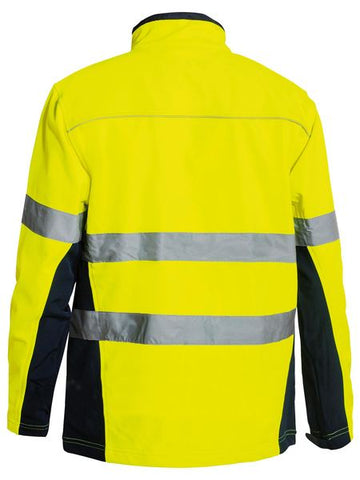 Bisley Soft Shell Jacket with 3M Tape-(BJ6059T)
