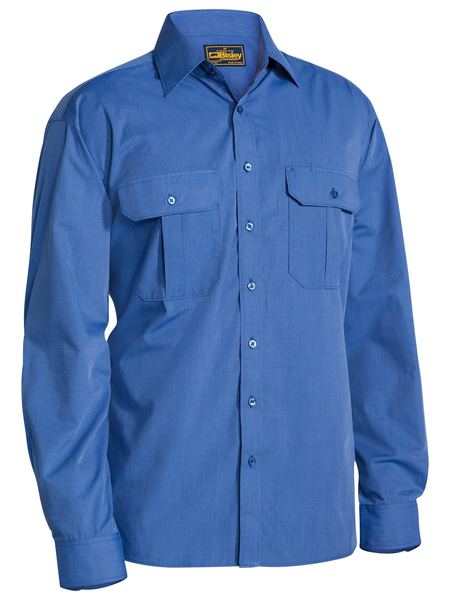 Bisley Metro Shirt - Long Sleeve-(BS6031)