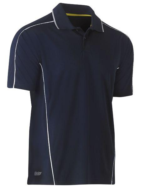 Bisley Cool Mesh Polo With Reflective Piping (BK1425)