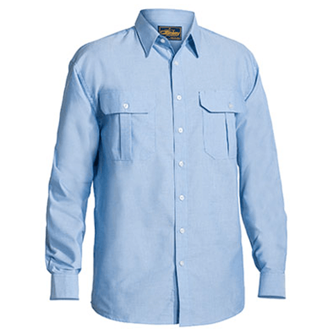 Bisley Oxford Shirt - Long Sleeve-(BS6030)