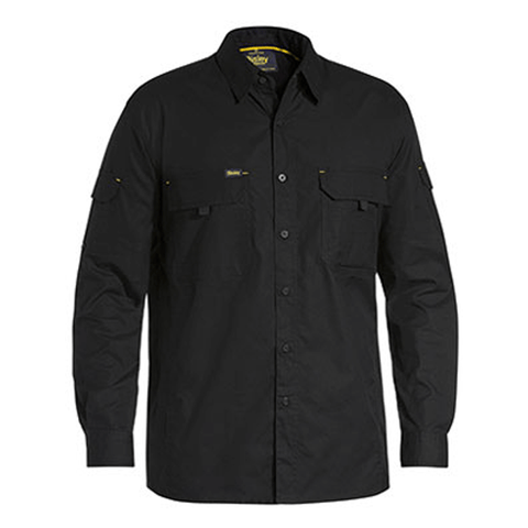 Bisley Mens X Airflow™ Ripstop Work Shirt-(BS6414)