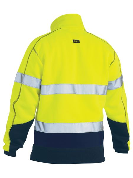 Bisley Taped Hi Vis Fleece Pullover (BK6989T)