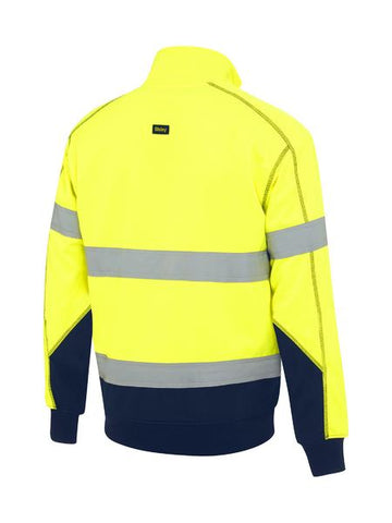 Bisley Taped Hi Vis Fleece Pullover With Sherpa Lining -( BK6987T)