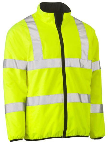 Bisley Taped Hi Vis Reversible Puffer Jacket (BJ6350HT)