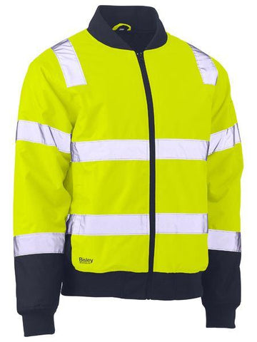 Bisley Taped Two Tone Hi Vis Bomber Jacket (BJ6730T)